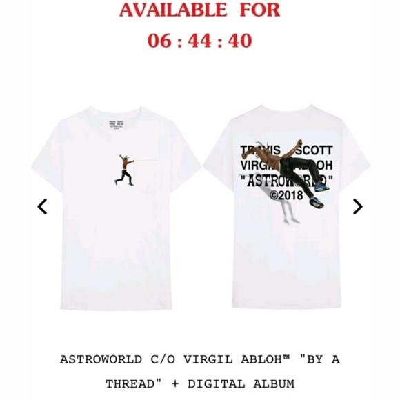 4c75d020 Off-White Shirts | Astroworld Virgil Abloh X Travis Scott Szll ...